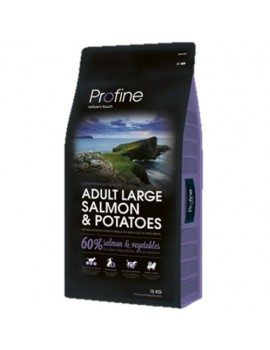 PROFINE ADULT LARGE BREED SALMON 15 KG