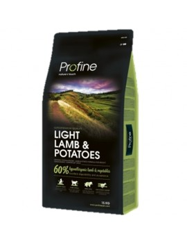 PROFINE LIGHT LAMB & POTATOES 15 KG