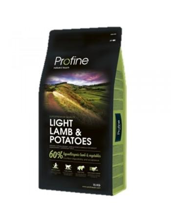 PROFINE LIGHT LAMB & POTATOES 15 KG