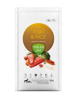 NATURA DIET FISH & RICE 12 KG PROMOCIÓN