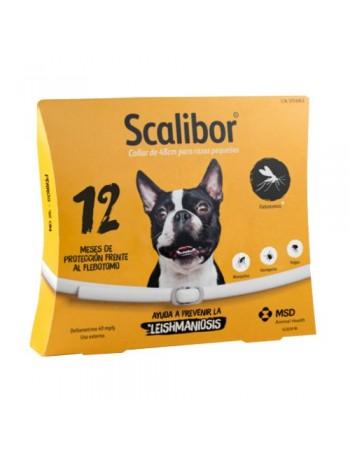 SCALIBOR Collar Antiparasitario Perro Pequeño 48 cm