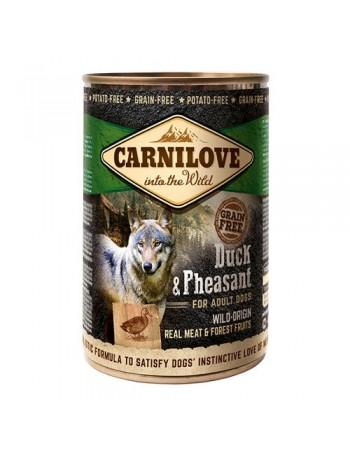 CARNILOVE PERRO HUMEDO Wild Meat Duck & Pheasant 400 GR.