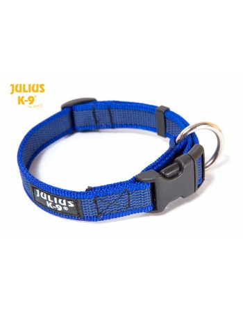 JULIUS Collar Engomado Azul 2cm ancho