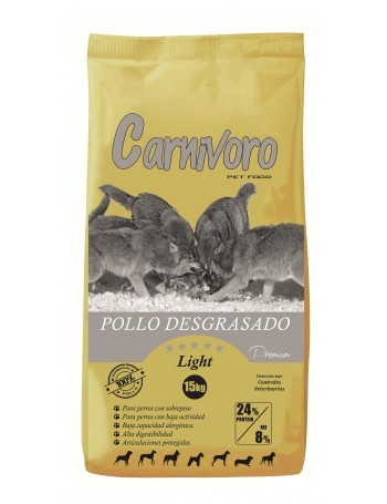 CARNIVORO LIGHT 15 KILOS