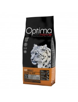 TIENDA ANIMALIA OPTIMA NOVA CAT ADULT SALMÓN Y ARROZ