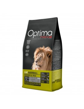 TIENDA ANIMALIA OPTIMA NOVA GATO ADULT HAIRBALL