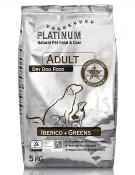 PLATINUM NATURAL IBERICO & GREENS 5 KG