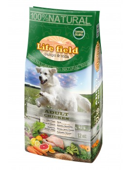 LIFE FIELD ADULT POLLO 12Kg