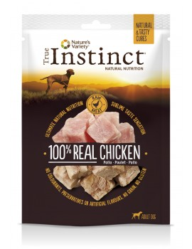 TRUE INSTINCT Tasty Cubes Pollo 50g