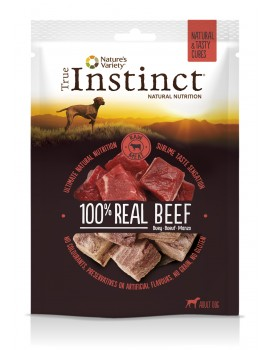 TRUE INSTINCT Tasty Cubes Buey 50gr