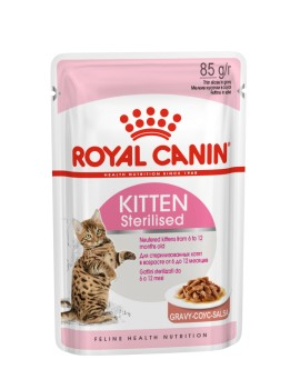 ROYAL CANIN Kitten Sterilized Gravy 85g