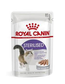 ROYAL CANIN Sterilized Loaf Mouse Paté 85g
