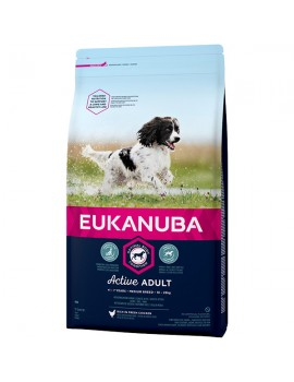 EUKANUBA Adulto Medium 12Kg
