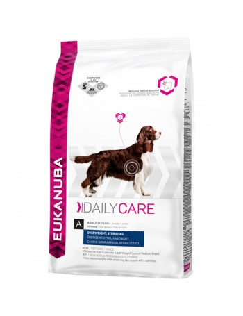 EUKANUBA Daily Care Over Weight 2,5Kg