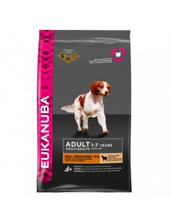 EUKANUBA Small Medium Cordero 12Kg