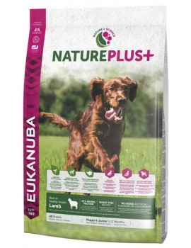 EUKANUBA NaturePlus Puppy Cordero 2,3kg