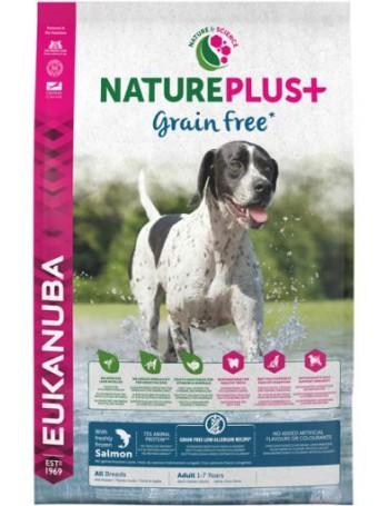 EUKANUBA NaturePlus Grain Free Adulto Salmon 2,3kg