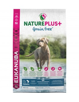 EUKANUBA NaturePlus Grain Freee Puppy & Junior Salmon 2,3kg