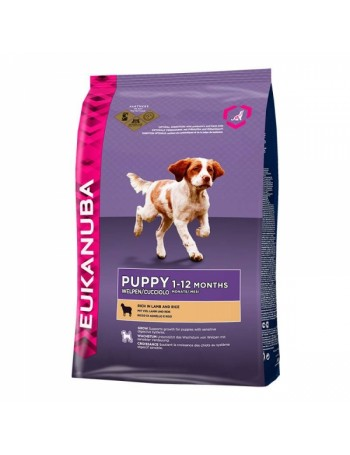 EUKANUBA Puppy Cordero 12kg