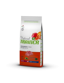 Natural Trainer Medium Adult Manzo 12Kg