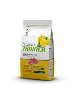 Natural Trainer Mini Adult Manzo 2Kg