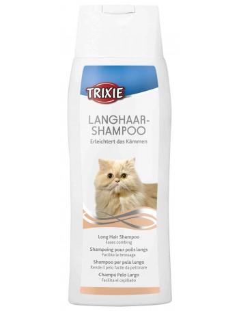 TRIXIE Champu Gatos Especial Pelo Largo 250ml