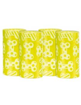 TRIXIE 4 Rollos de 20 Bolsas M con Aroma Limon
