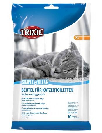 TRIXIE 10 Bolsas para Bandeja Higienica XL 56x71cm