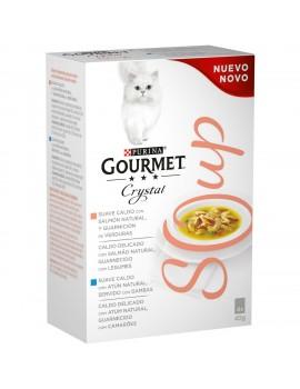 GOURMET Soup Cristal Salmon 4x40g