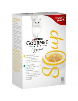 GOURMET Cristal Soup Pollo y Verduras Pack 4x40g