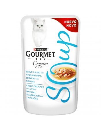 Gourmet Cristal Atun/Gambas 40g