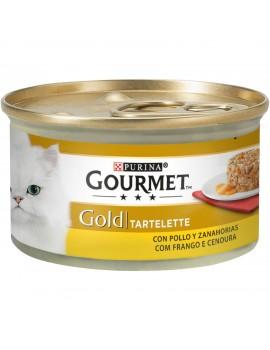 Gold tartallete pollo/zanah 85gr