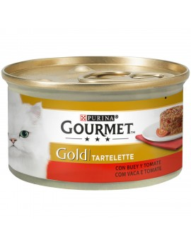 Gold tartallete buey/tomate 85gr