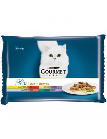Gourmet Perle Carnes 4x85 gr