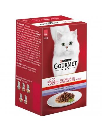GOURMET Mon Petit Buey, Ternera y Cordero 50g