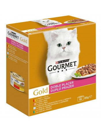 GOURMET Gold Doble Placer 8x85g