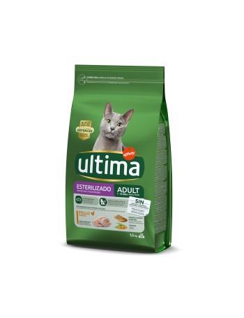 ULTIMA Cat Esterilizado Pollo 1,5kg