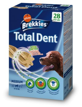 BREKKIES Snack Total Dent 4x180g