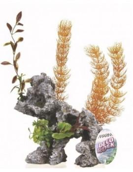 MARINA DECO ROCK - ROCA CON PLANTAS JUMBO