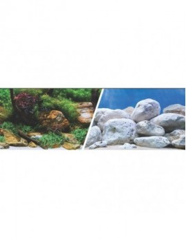 MARINA 3D Jardin Acuatico/Piedras 30. 5cm X 7.6M