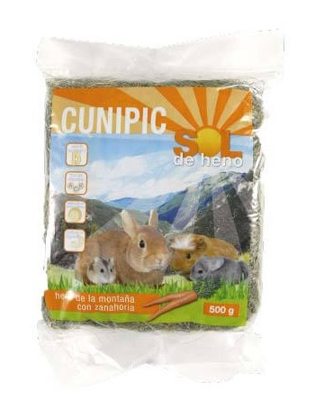 CUNIPIC Heno Zanahoria 500g