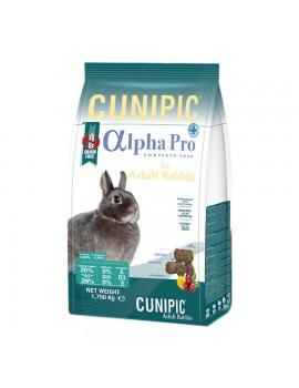 CUNIPIC Alpha Pro Conejo Adulto 1,7Kg