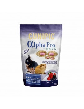 CUNIPIC Alpha Pro Snack Frutos del bosque 50gr
