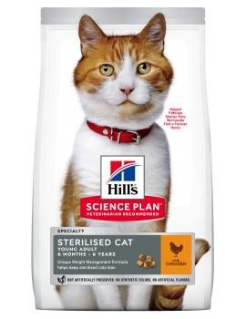 HILLS Feline Esterilizado Young Adult 1,5Kg