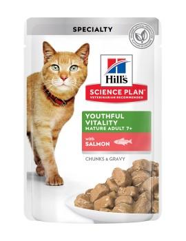 HILLS Feline Youthful Vitality Salmon 85g