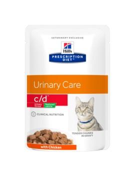 HILLS Feline c/d Urinay Red Calor 85g