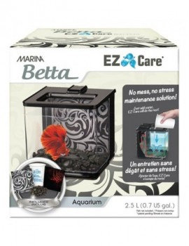 MARINA BETTA EZ CARE  KIT 2.5 l Negro