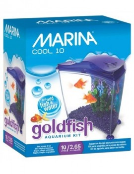 MARINA COOL GOLDFISH KIT 10 LTS PÚRPURA