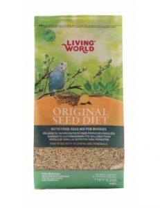 alimentacion de aves domesticas living world para periquitos
