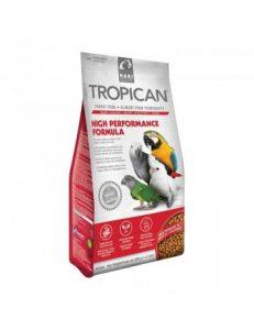 alimentacion de aves domesticas high performance formula de tropican para loros